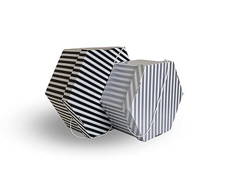 Wedding Hat Storage Box. 2 Sizes Medium U0026 Large. Black U0026 White Or Silver