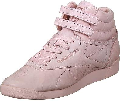 Reebok F/S Hi Fbt-Pink-40 Mujer