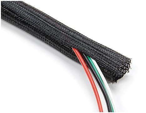 amazon com allstar performance all76614 braided wire wrap automotive rh amazon com  car wiring harness wrap