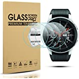 Diruite 4-Pack for Samsung Galaxy Watch 46mm Screen Protector Tempered Glass for Galaxy 46mm Watch, SM-R800 [2.5D 9H…