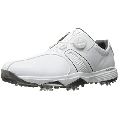 adidas Men's 360 Traxion Boa Ftwwht/Ft Golf Shoe | Golf