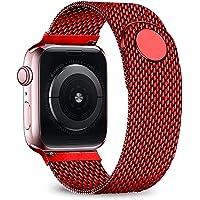 Ternzun Pasek do zegarka Apple Watch 44 mm 40 mm pasek iwatch 38/42 mm pasek magnetyczny Milanaise Loop bransoletka do…