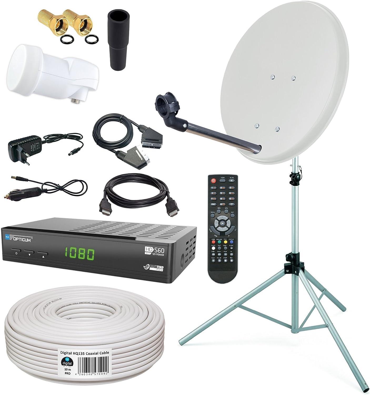 HB-Digital Instalación satélite tamaño mini para el camping ...