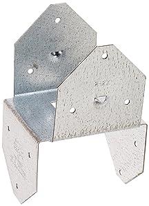 Simpson Strong Tie BCS2-2/4-20 18-Gauge Double 2x4 Post Cap/Base (20-Per Box)
