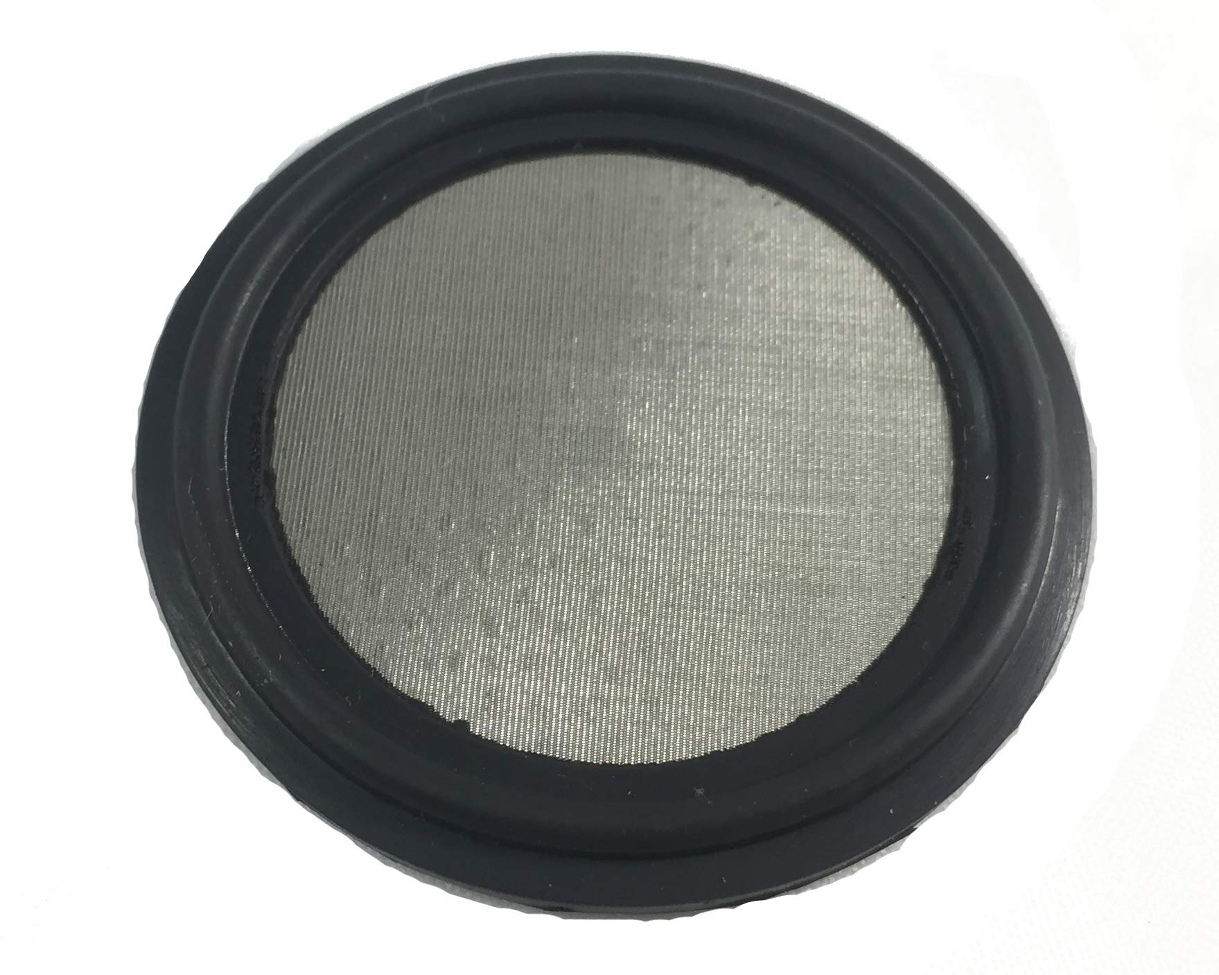 1.5'' Tri Clamp BUNA-N Screen Filter, Ferrule Gasket 316L 100Uf Micron Screen Stainless Pharmaceutical Grade Filter Mesh. BUNA-N, Bleed Proof Fusion Molded With Mesh Material! & FDA Certification by ARTESIAN SYSTEMS