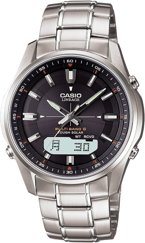] CASIO watch LINEAGE lineage tough solar radio watch MULTIBAND 6 LCW-M100D-1AJF men's watch