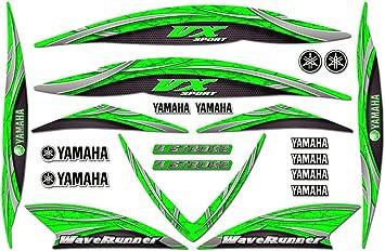 "8/"" Yamaha Racing Motorcycle Waverunner Vinyl Decal window sticker"