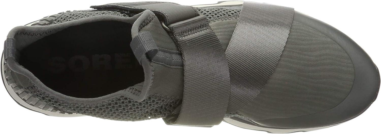Sorel Kinetic Sneak, Baskets Femme Gris Quarry