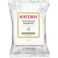 Burt's Bees Sensitive Facial Cleansing Wipes, 30 Wipes