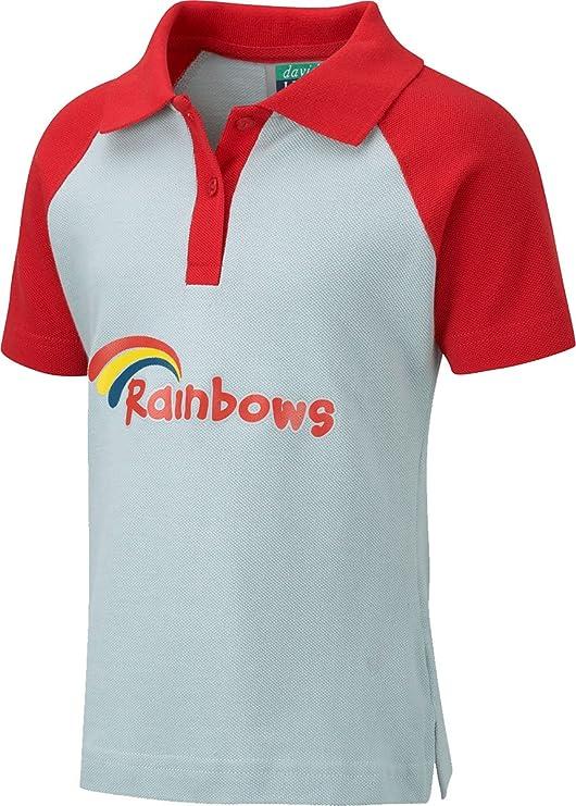 David Luke Oficial de arcoíris Kids Uniforme Escolar Polo Top ...