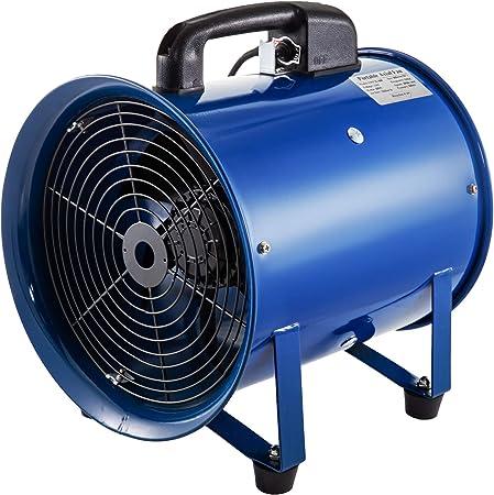 Mophorn Ventilador Industrial Ventilador de 12 Pulgadas 2700r ...
