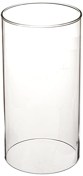 Amazon.com: WGV Clear Glass Hurricane Candle Holder Vase, 8 Inch: Home U0026  Kitchen