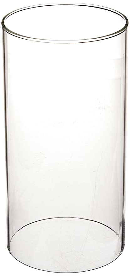 Amazon Wgv Clear Glass Hurricane Candle Holder Vase 8 Inch