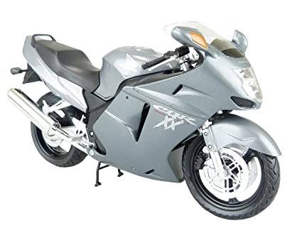 Well-Educated 1:12 Honda Motorcycle Toy Model Honda Cbr 1100xx Super Blackbird Motorcycle Model Diecasts & Toy Vehicles