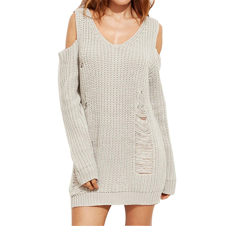 SDHEIJKY Pullover-sweaters SWEATER レディース B075XCNRWL S|2 2 S