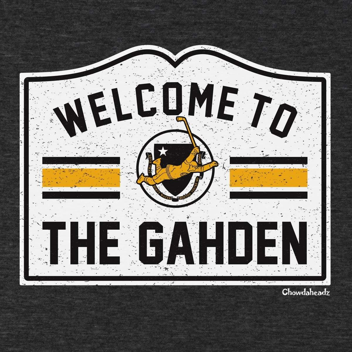 5ee0f671f0a7 Amazon.com  Welcome to the Gahden Hockey T-Shirt  Clothing