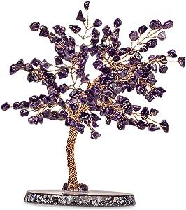 Karma and Luck Oasis - Original Feng Shui Amethyst Crystal Tree