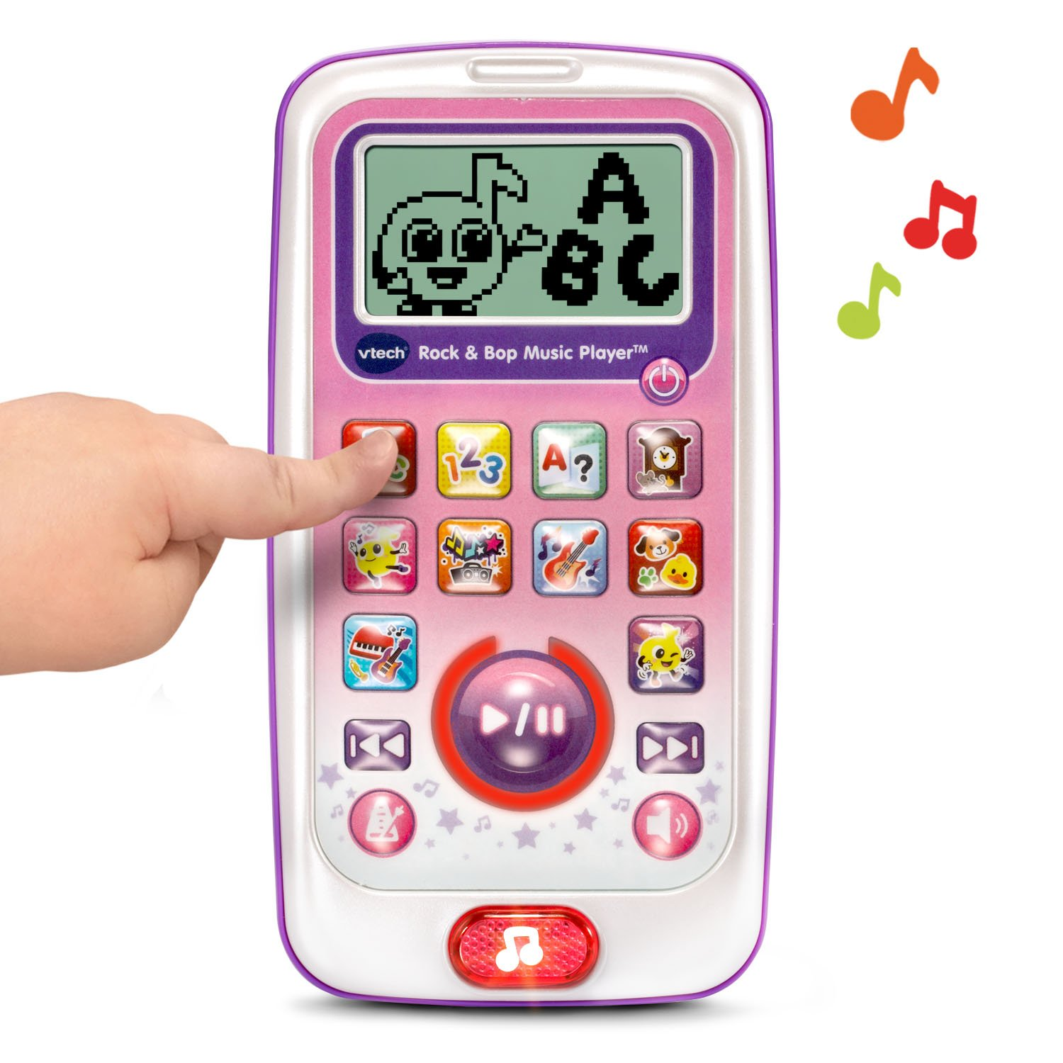 VTech Rock and Bop Music Player Amazon Exclusive, Pink by VTech (Image #3)