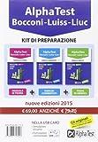 Alpha Test. Bocconi, Luiss, Liuc. Kit di preparazione. Con USB card