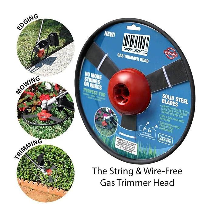 Gas cabezal de recorte – no más cuerdas o cables para borde del ...