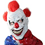 XIAO MO GU Latex Halloween Party Cosplay Face Mask Clown Costumes Mask