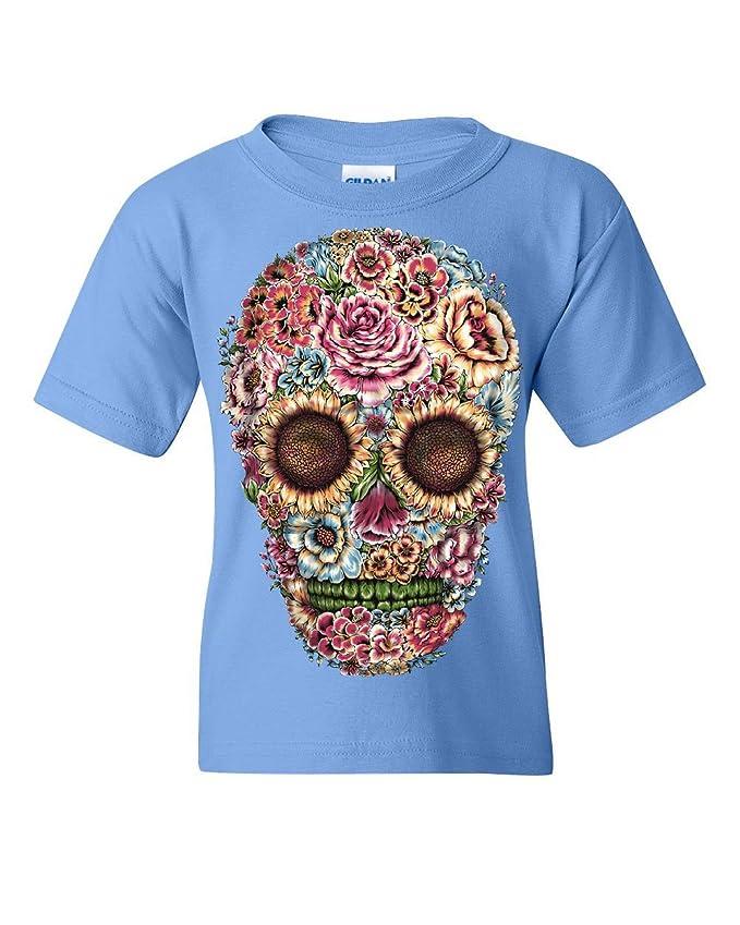 Victorian Flower Sugar Skull Hoodie Dia de los Muertos Calavera Sweatshirt