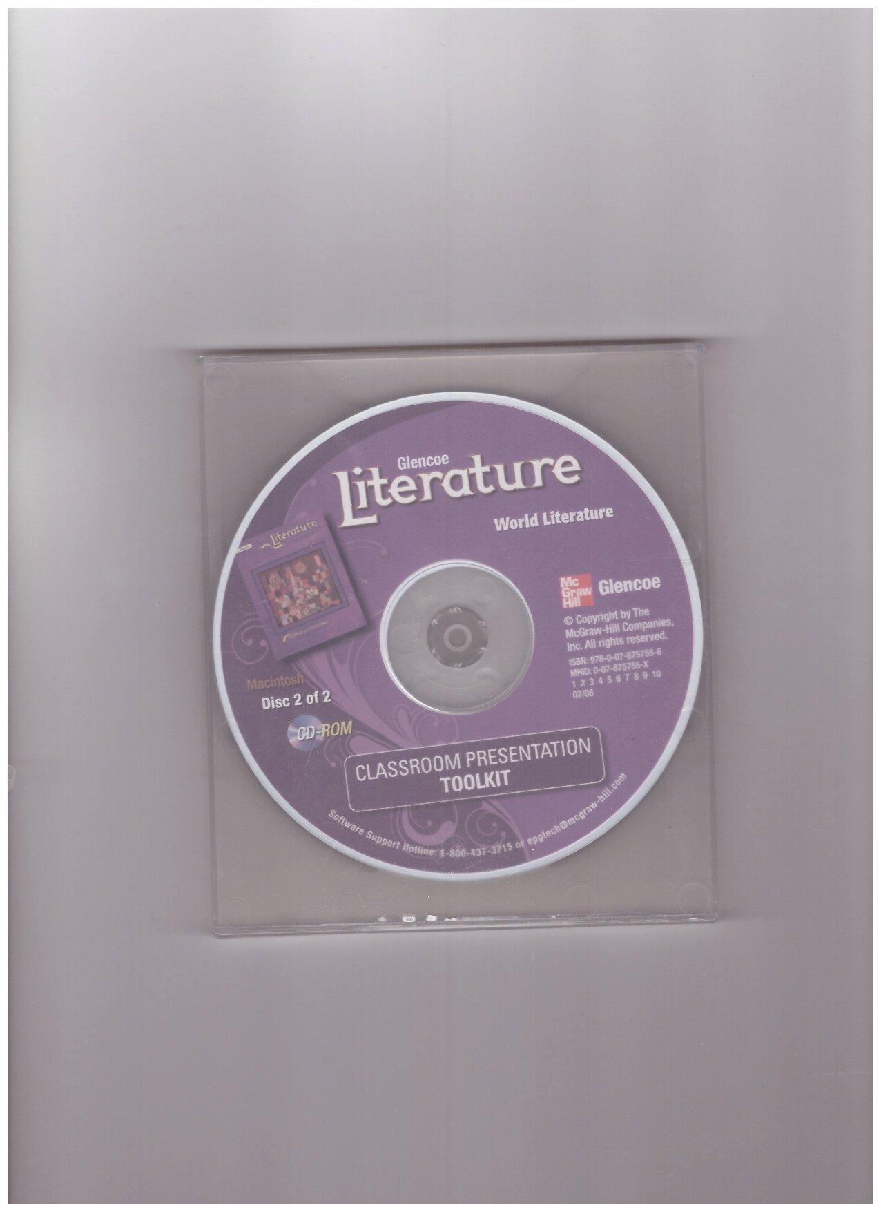 Download Glencoe Literature World Literature Classroom Presentation Toolkit PDF