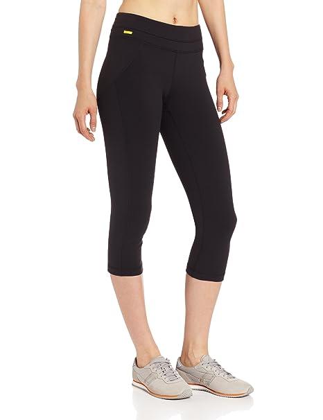 ccf741a76d779 Amazon.com : LOLE Women's Lively Capri, Black, X-Small : Athletic ...