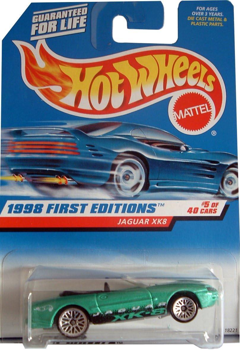 - Collector #639-1:64 Scale Collector Car Replica. Hot Wheels Open-Top Convertible 1998 First Editions Jaguar XK8 #5 of 40