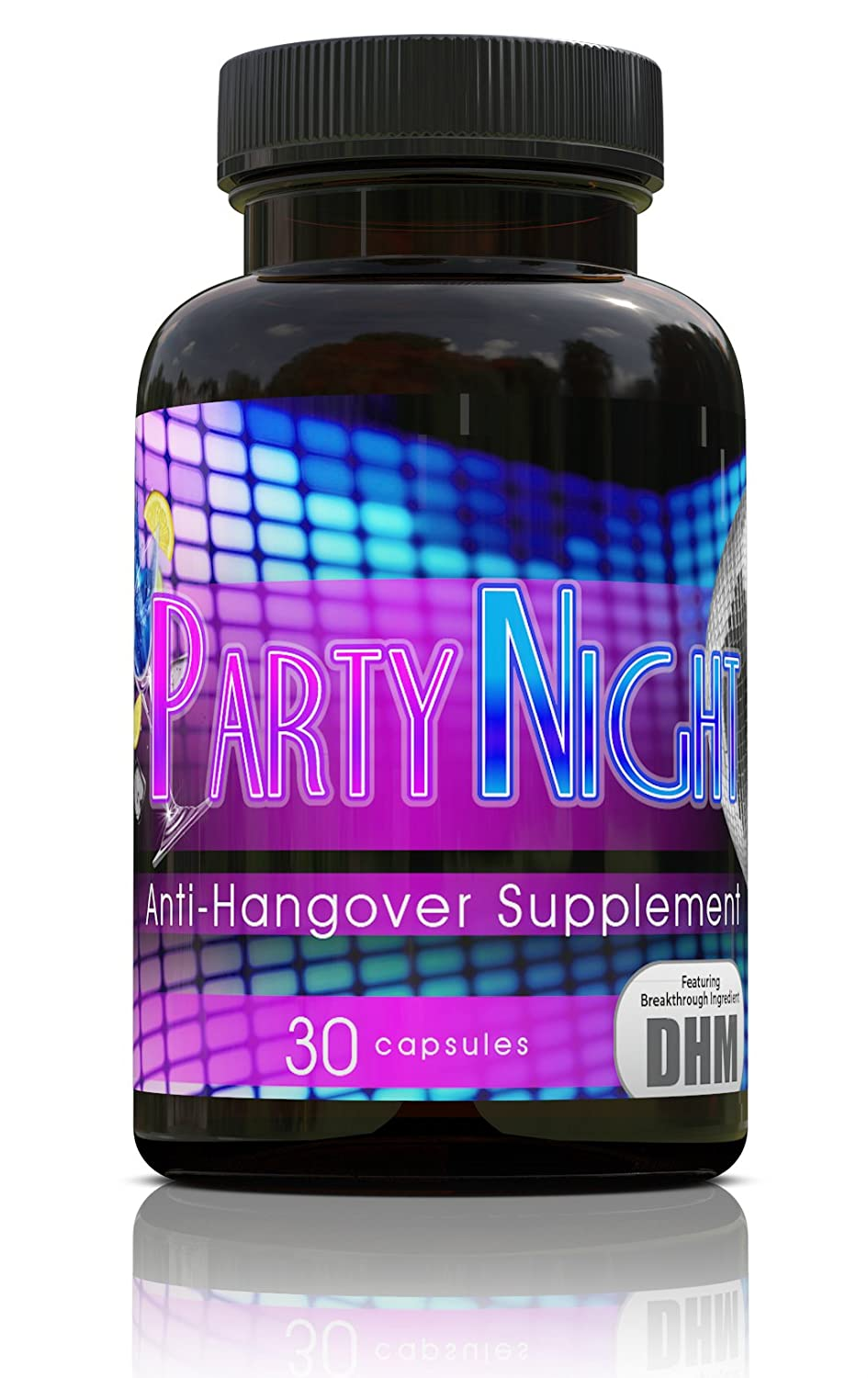 Party Night Anti-Hangover Supplement | 300mg Dihydromyricetin DHM | Your Best Solution to Live Without a Hangover! by Absorb Health