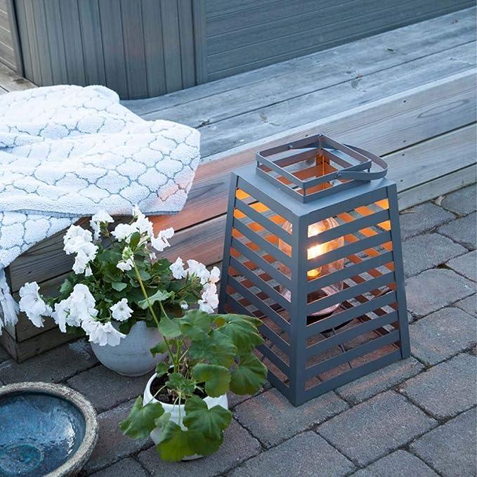 Stahl satiniert Tisch-// BodenleuchteFloodlite Farbe