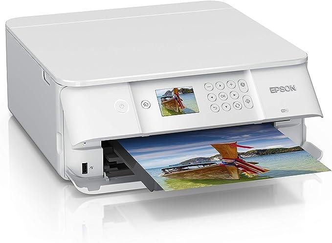 Epson Expression Premium XP-6105 Impresora multifunci/ón Inyecci/ón de Tinta, Impresi/ón a Color, 5760 x 1440 dpi, 100 Hojas, A4, Blanco