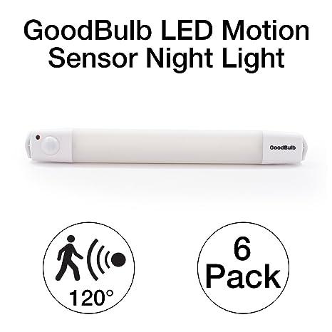 Led Motion Sensor Night Light Closet Light Cabinet Light Battery
