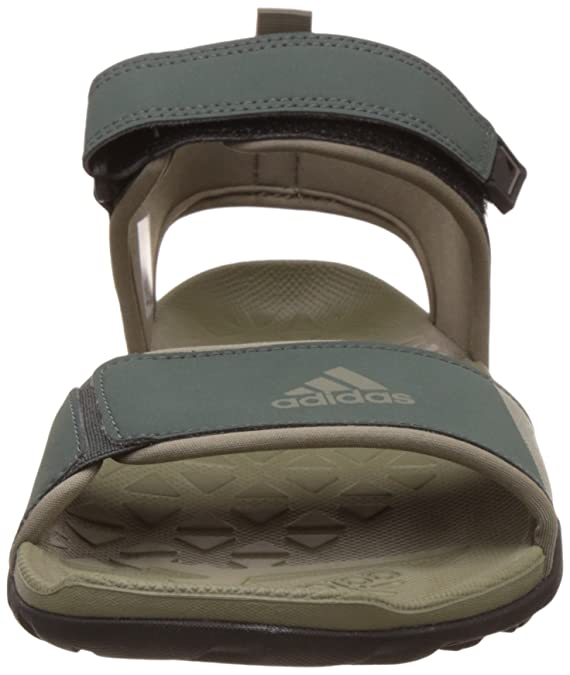 5fdef3c92b7b Adidas Men s Cyran M Utiivy and Tracar Athletic   Outdoor Sandals - 11  UK India (46 EU)  Buy Online at Low Prices in India - Amazon.in