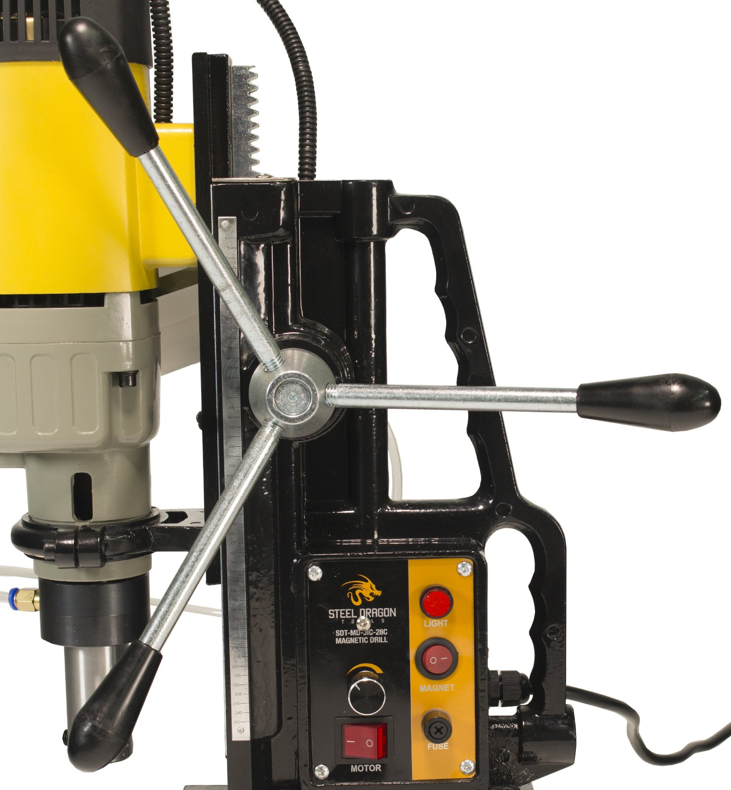 Steel Dragon Tools MD50 Magnetic Drill Press with 2'' Boring Diameter and 2,900 LBS Magnetic Force by Steel Dragon Tools (Image #9)
