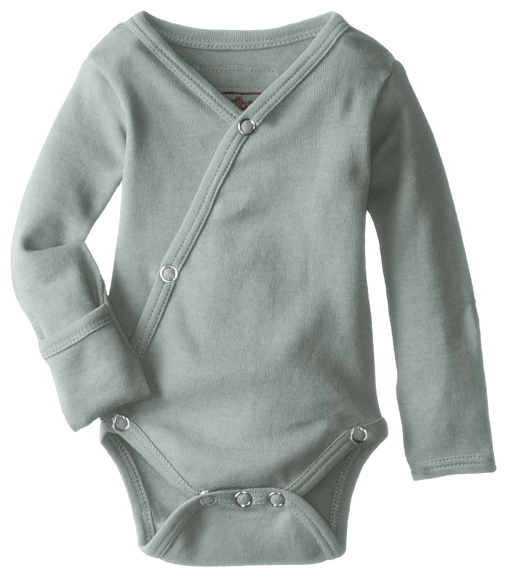 L'ovedbaby Unisex Baby Organic Kimono Bodysuit L'ovedbaby