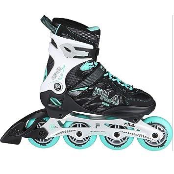 6ae3faa1fb6 Fila Skates Crossfit Lady's Inline Skate schwarz/mint - 8: Amazon.co.uk:  Sports & Outdoors