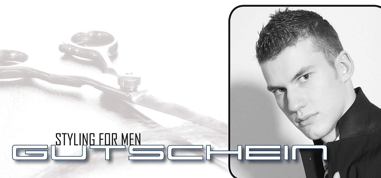 Gutscheinpaket Gutscheinkarten Friseur und Schere für Friseurstudios Styling Men