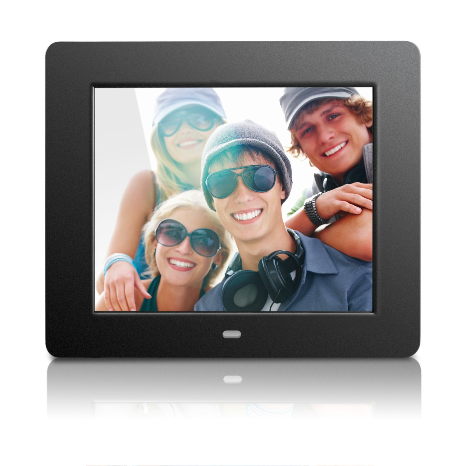Buy Aluratek Adpf08sf 8 Inch Digital Photo Frame Black Online At