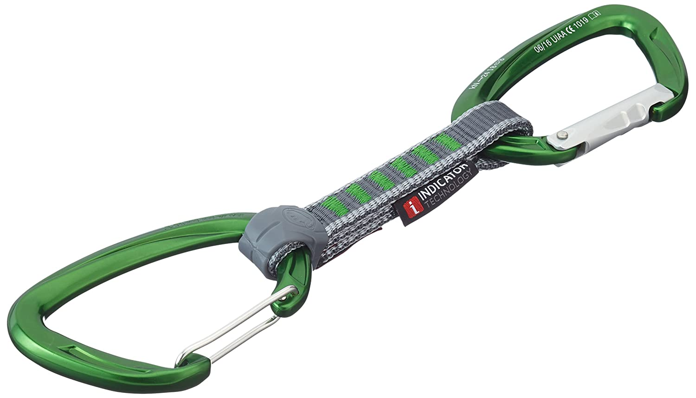 Mammut Klettergurt Indikator : Mammut express set er pack crag indicator wire straight gate bent