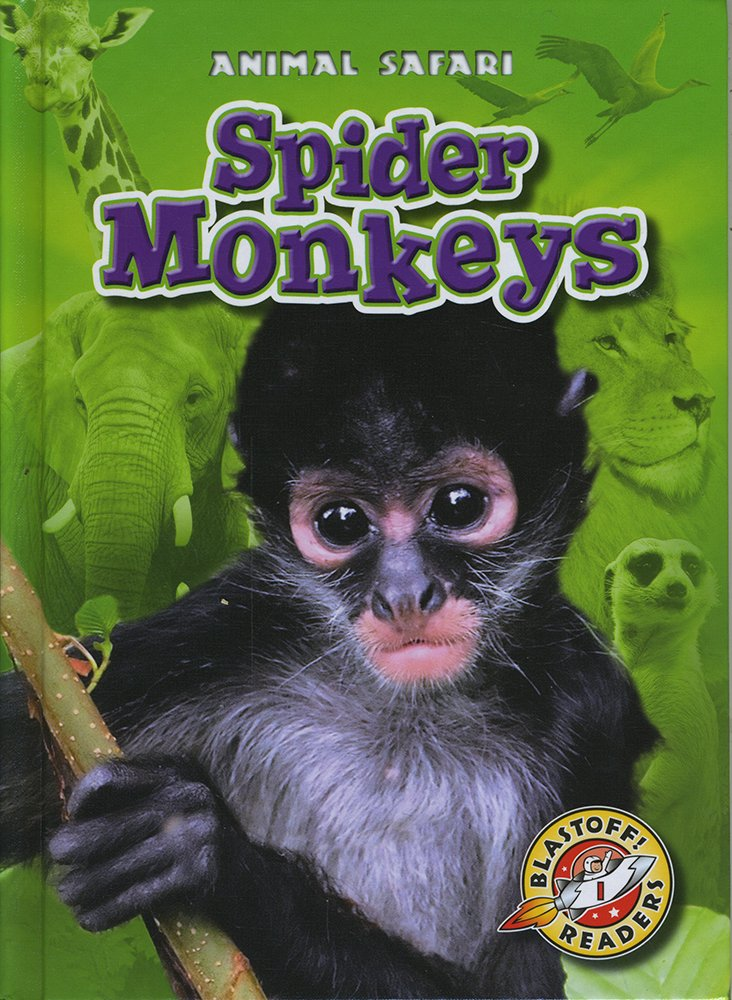 Spider Monkeys (Blastoff! Readers: Animal Safari) (Blastoff Readers. Level 1)
