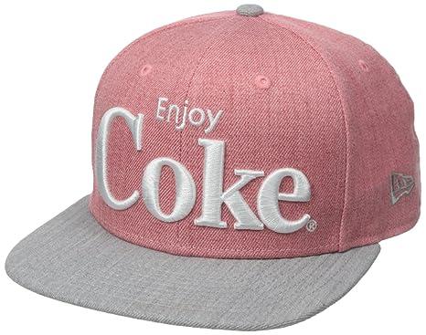 New Era Cap Men s Hero Heather 2 Coca-Cola 9Fifty Snapback Cap d2f640cbb78