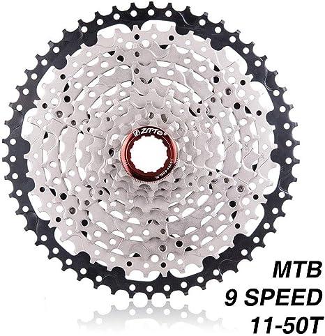 Dumai Ruedas Libres Cassette de 9 velocidades 11-50T Mountain Bike ...
