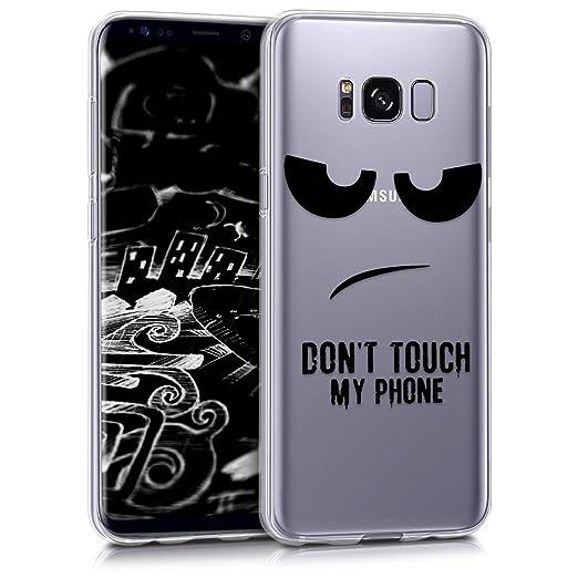 9 opinioni per kwmobile Cover per Samsung Galaxy S8- Custodia in silicone TPU- Back case
