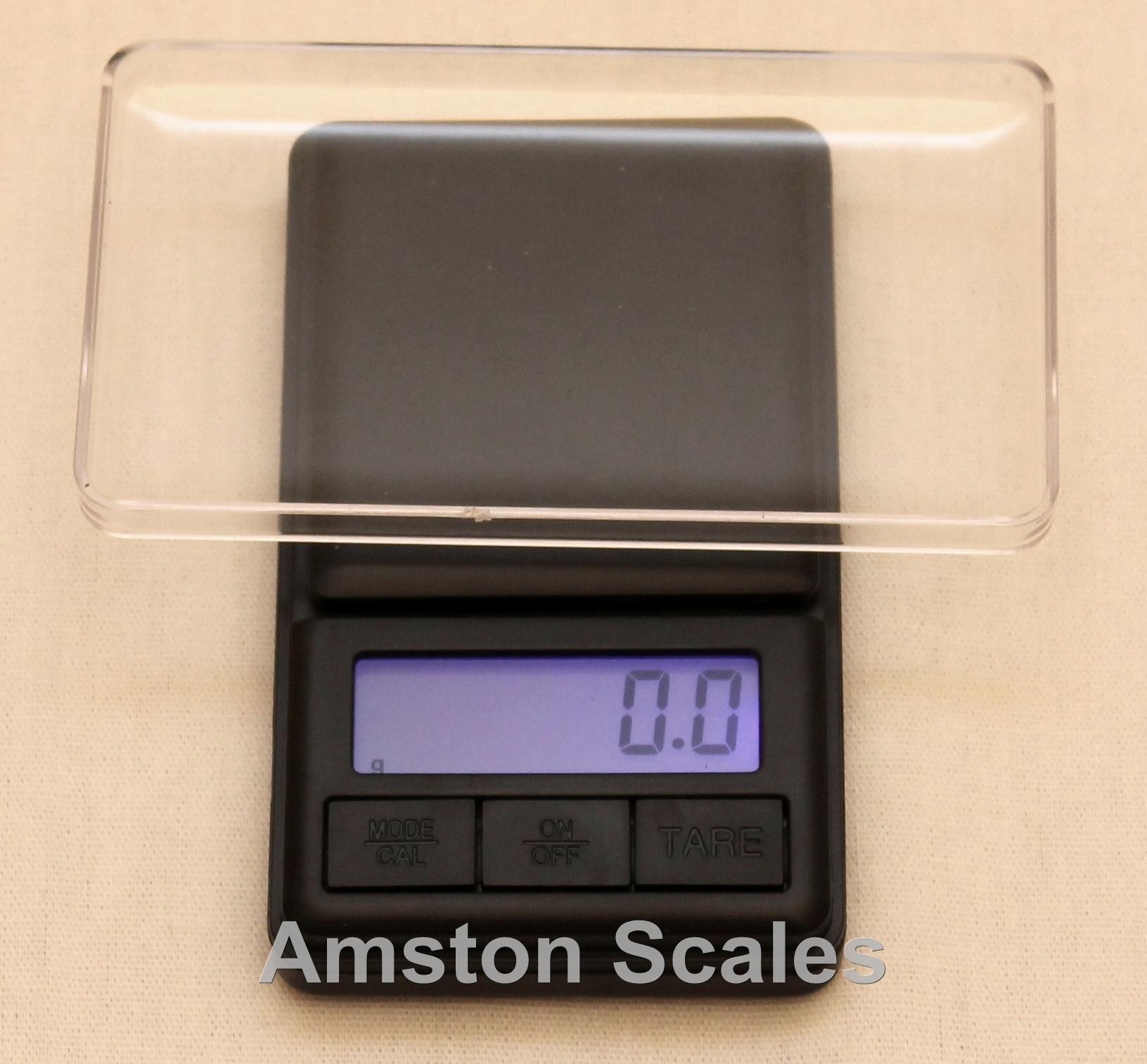 500 x 0.1 Gram Digital Pocket Scale Grain Carat Ounce Troy Pennyweight Gunpowder Gold Silver Gem Compact