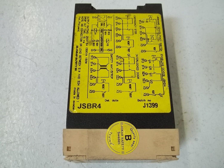 JOKAB SAFETY JSBR4 EXPANSION RELAY *USED*