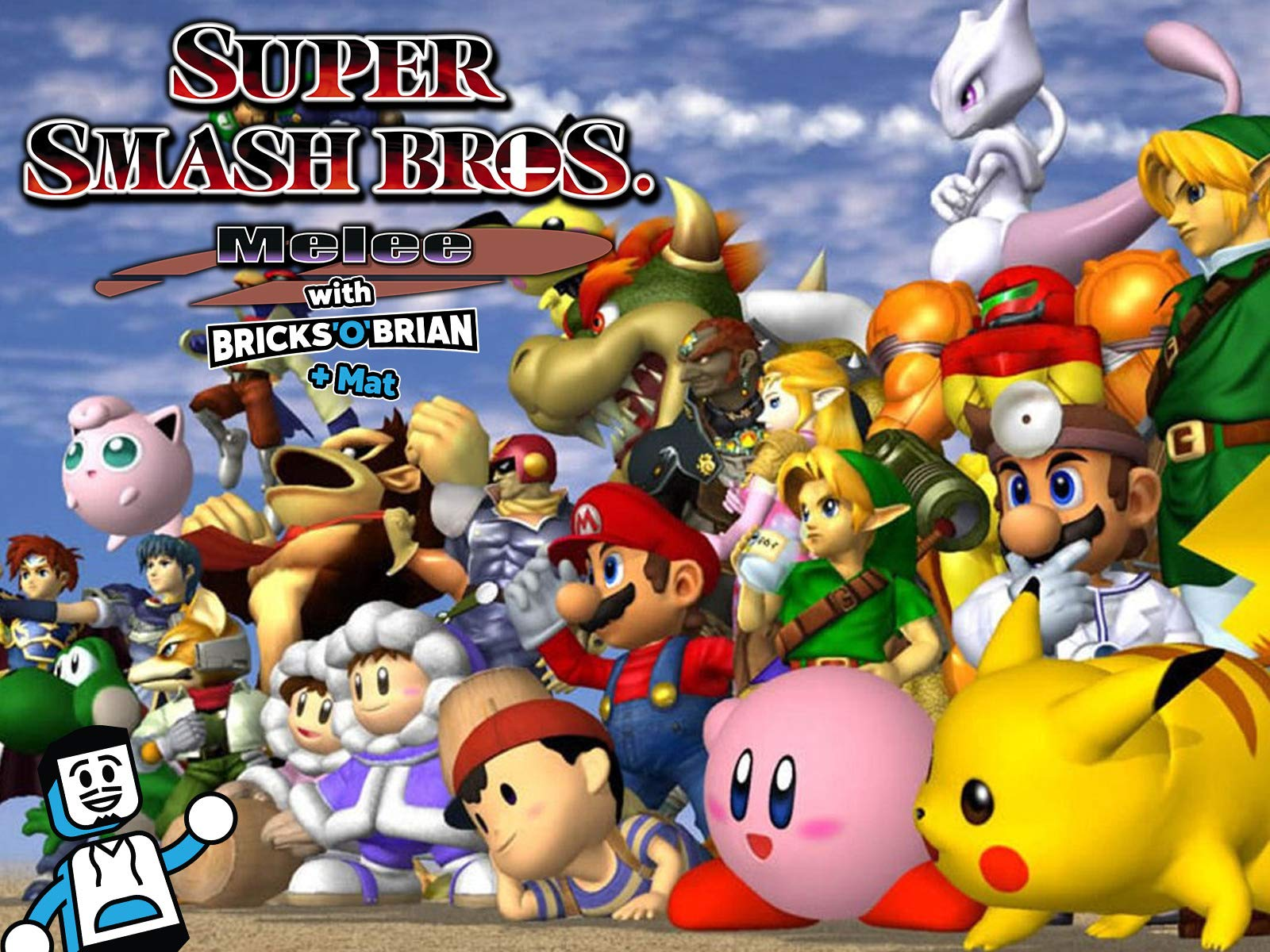 Watch Clip Super Smash Bros Melee With Bricks O Brian Mat