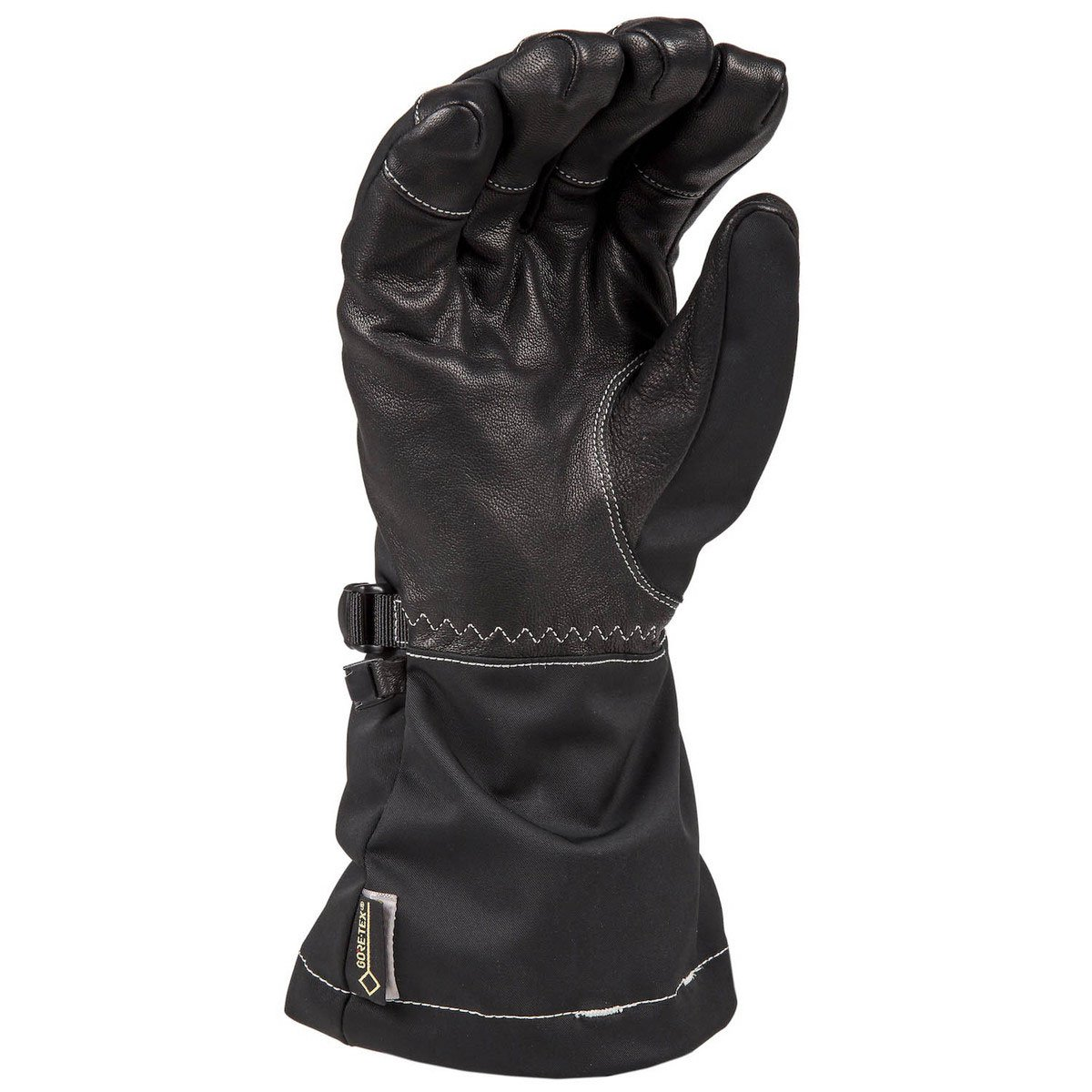 Klim Allure Women's Ski Snowmobile Gloves - Matte Black / Large by Klim (Image #2)