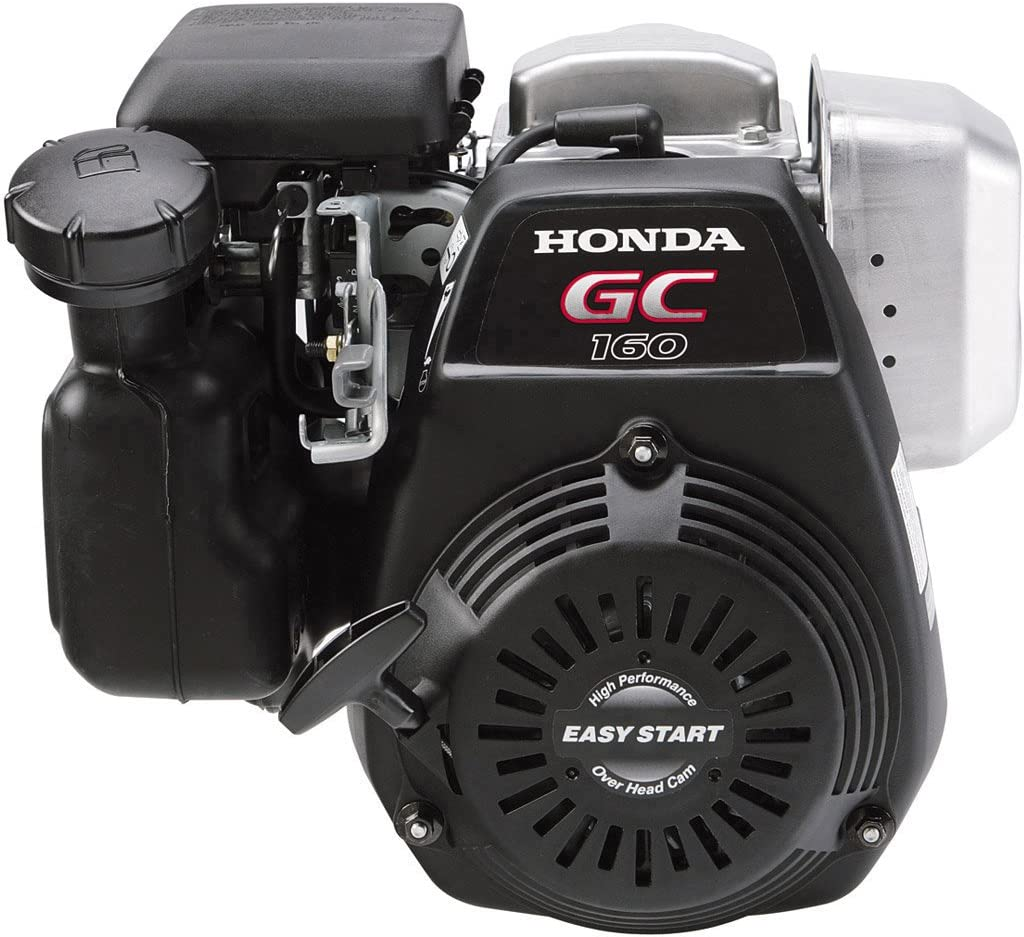 Honda GC160LAQHA 160cc GC160 Series OHC 4.6 HP Engine With Straight Keyed Shaft 3/4-Inch by 2-7/16-Inch Crankshaft