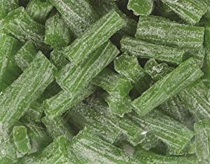 Sour Green Apple Licorice Bits by Its Delish, 2 lbs